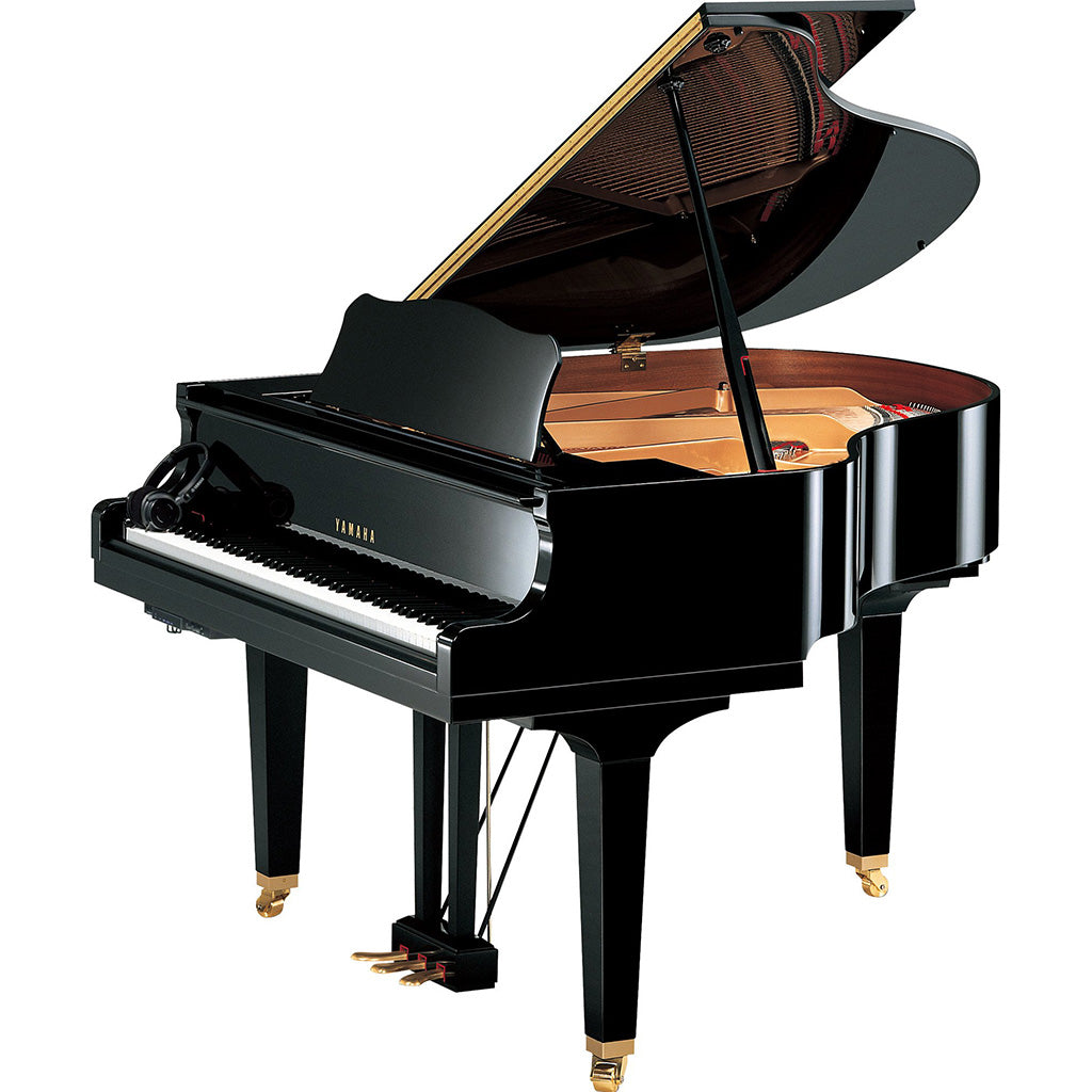 Yamaha GB1KSC2PE Silent Baby Grand Piano - Polished Ebony