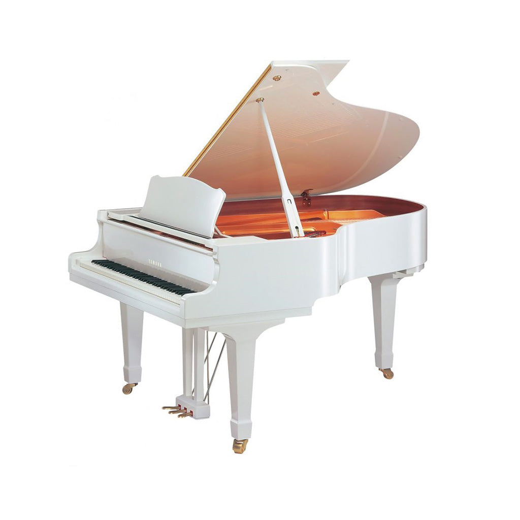 Yamaha GC1MPWH Baby Grand Piano - Polished White