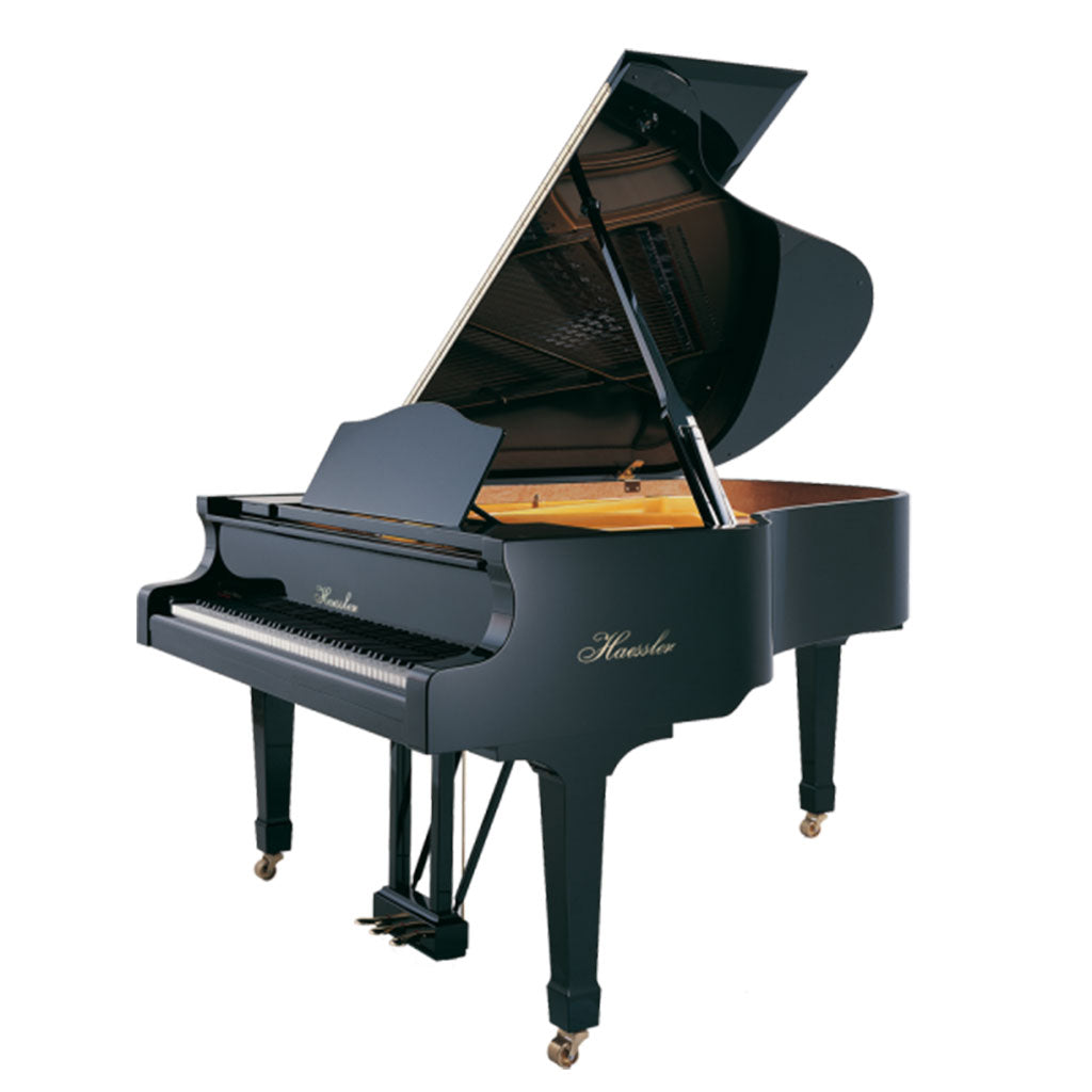 Haessler - H186 Grand Piano - Ebony Polish