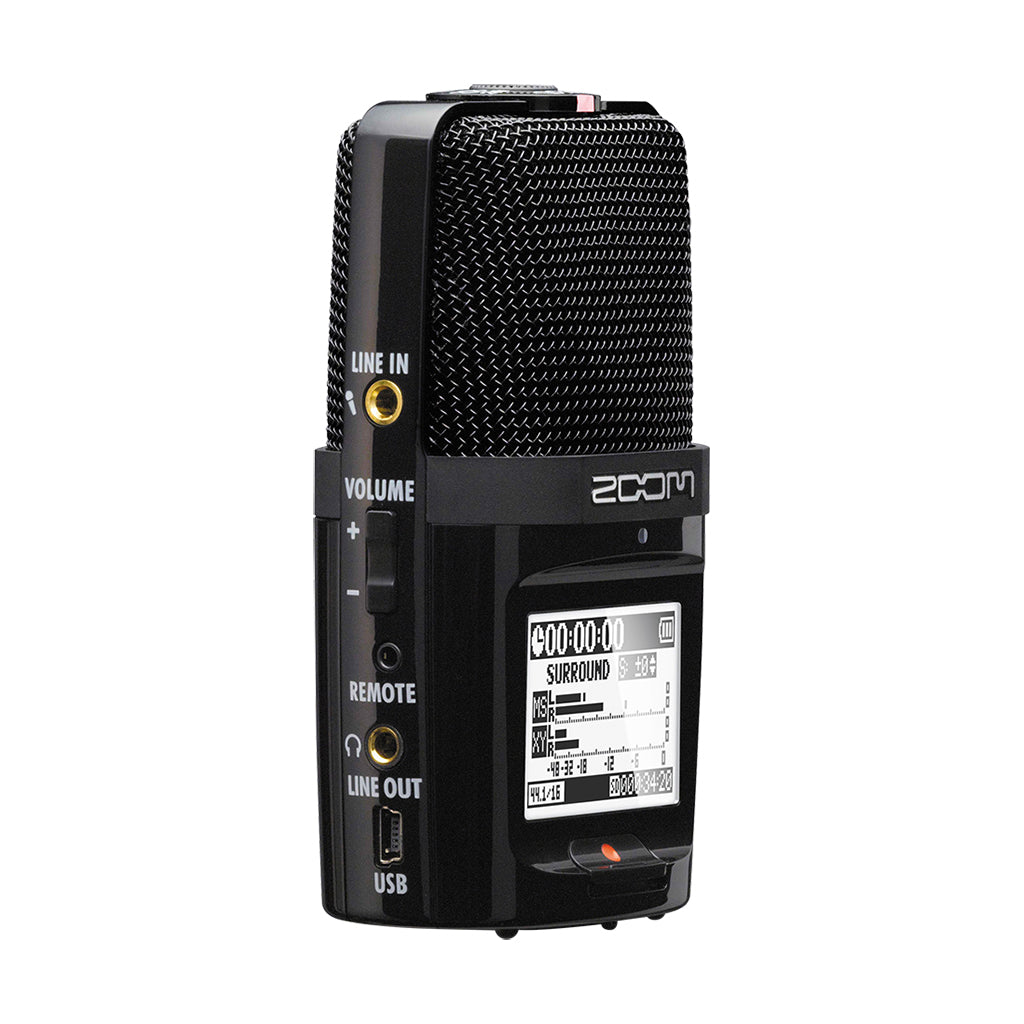 Zoom - H2n - 4-channel Handy Recorder