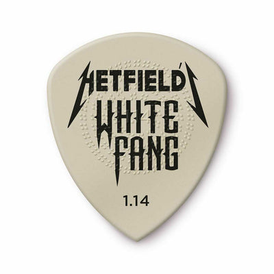 Dunlop Hetfield's White Fang Custom Flow Pick 1.14mm - 6 pk.