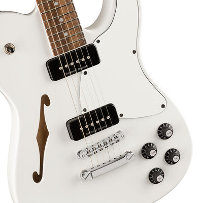 Fender Jim Adkins JA-90 Telecaster® Thinline - White - Laurel Fretboard