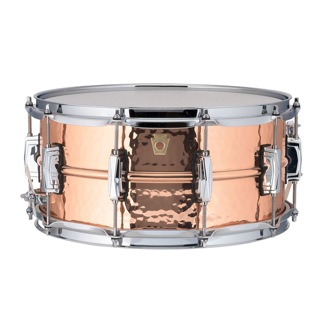 "Ludwig - Copper Phonic - Snare Drum - 14""x6.5"" - Hammered Shell"