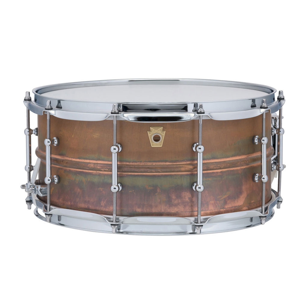 "Ludwig - Copper Phonic - Snare Drum - 14""x6.5"" - Tube Lugs"