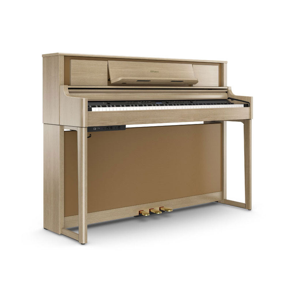 Roland LX705LA PureAcoustic Digital Piano -  Light Amber Oak