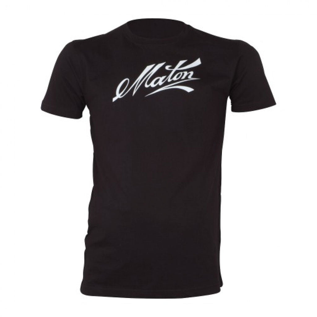 Black Maton Signature Tee - Medium