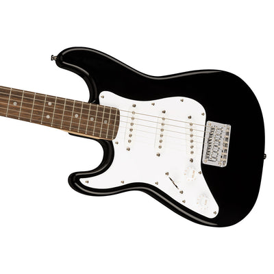 Squier - Mini Stratocaster® Left-Handed - Laurel Fingerboard - Black