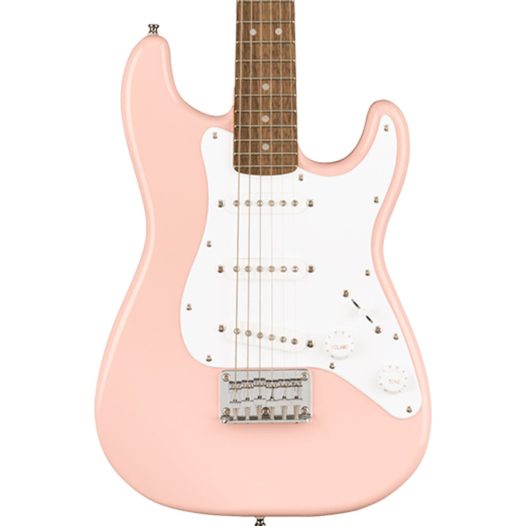 Squier - Mini Stratocaster® - Laurel Fingerboard - Shell Pink