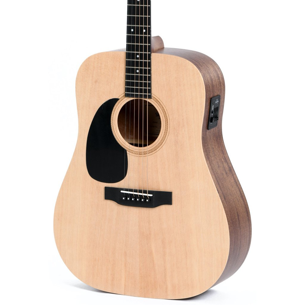 Sigma DMEL SE Series Dreadnought - Spruce/Mahogany + EQ Left Handed