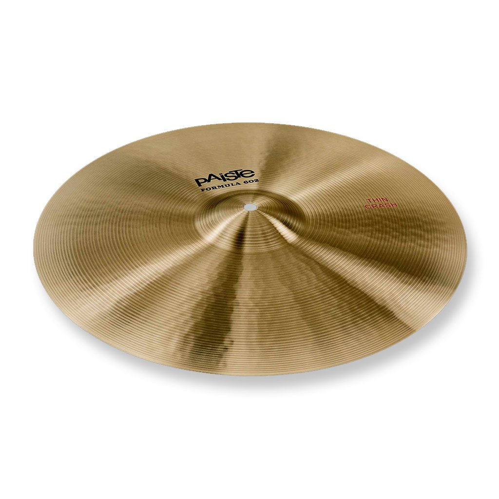 "Paiste - 17"" - Formula 602 - Thin Crash"