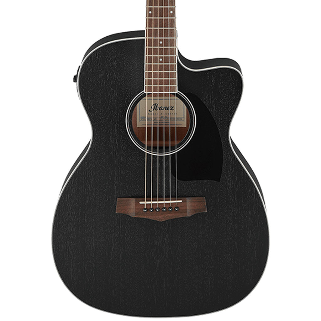 Ibanez - PC14MHCE Acoustic Guitar - Weathered Black