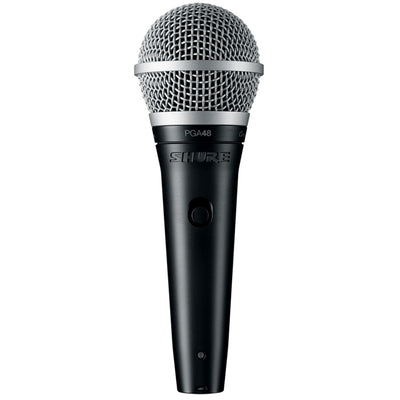 Shure PGA48XLR Dynamic Vocal Microphone with XLR Cable