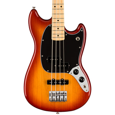Fender Player Mustang PJ Bass - Sienna Sunburst - Maple Fretboard