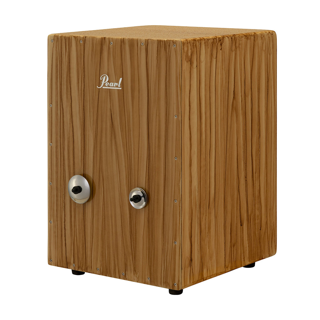 Pearl Percussion  Cajon with Adjustable Jingles