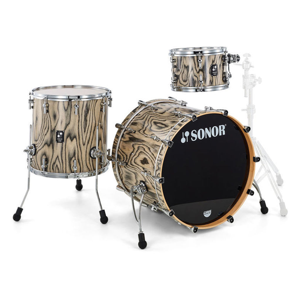 Sonor - Prolite - 3 Piece Shell Set 12, 16, 22 - Snow Tiger