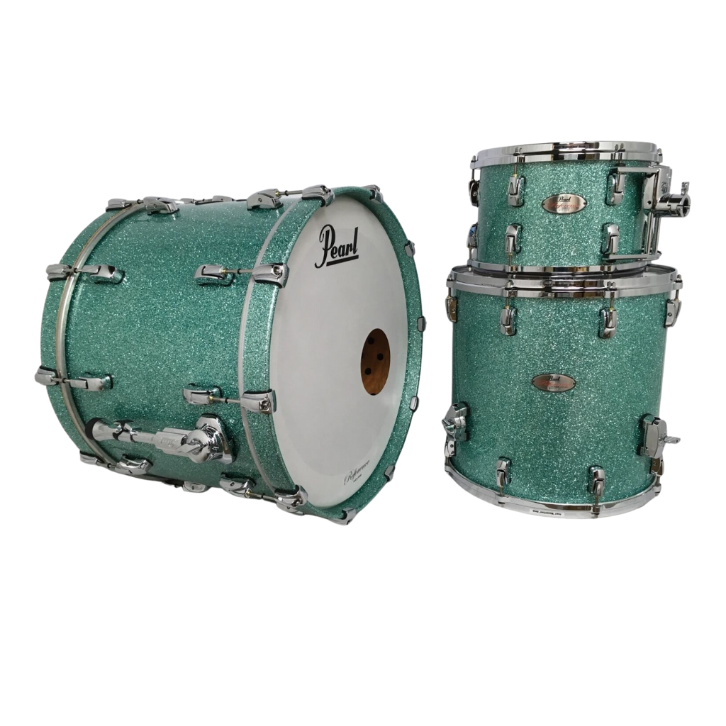 Pearl Reference 4-Piece Shell Pack 10, 12, 16, 22 - Glacier Blue Sparkle