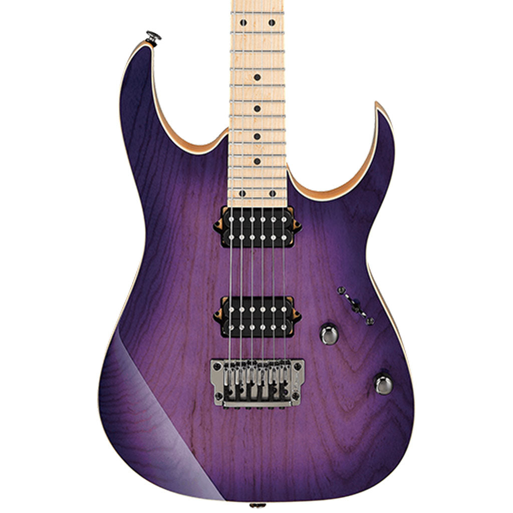 Ibanez - RG652AHMFX Prestige Electric Guitar W/ Case - Royal Plum Burst