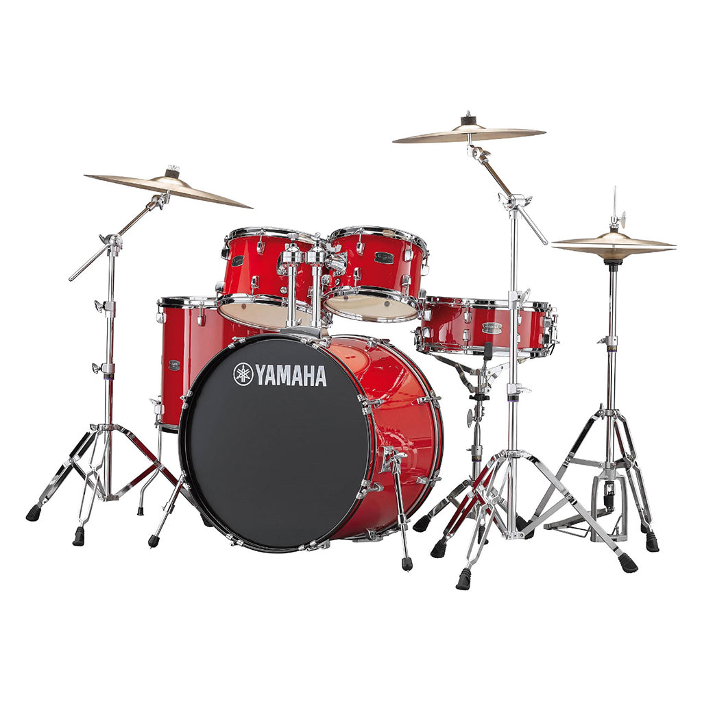 Yamaha Rydeen Fusion Drum Kit Pack - Hot Red
