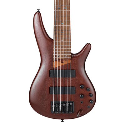 Ibanez SR506E 6 String Bass - Brown Mahogany
