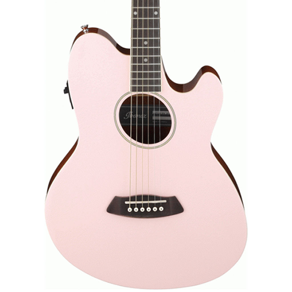 Ibanez - TCY10E Acoustic Guitar - Pastel Pink High Gloss * PRE ORDER *