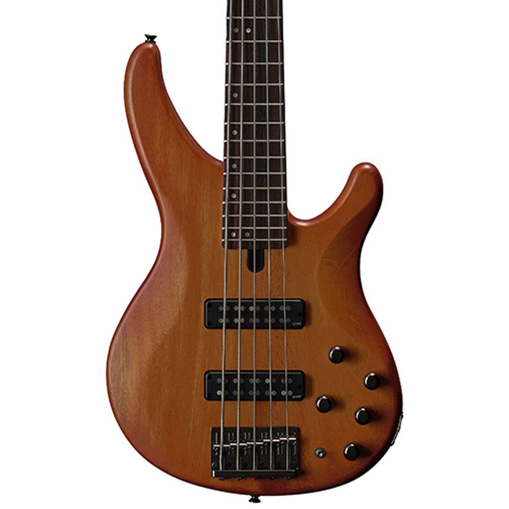 Yamaha TRBX505 5-String Electric Bass - Brick Burst