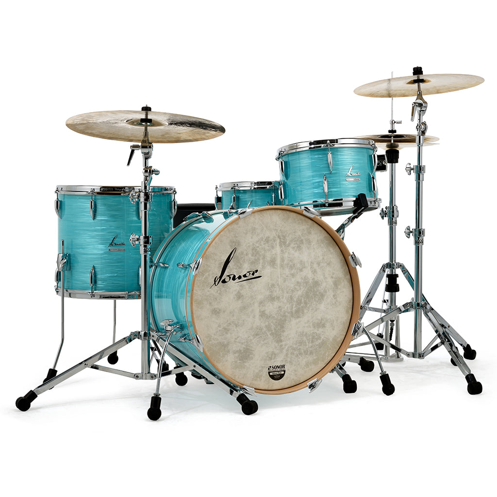 Sonor - Vintage Series - 3 Piece Shell Set 13, 16, 22 - California Blue