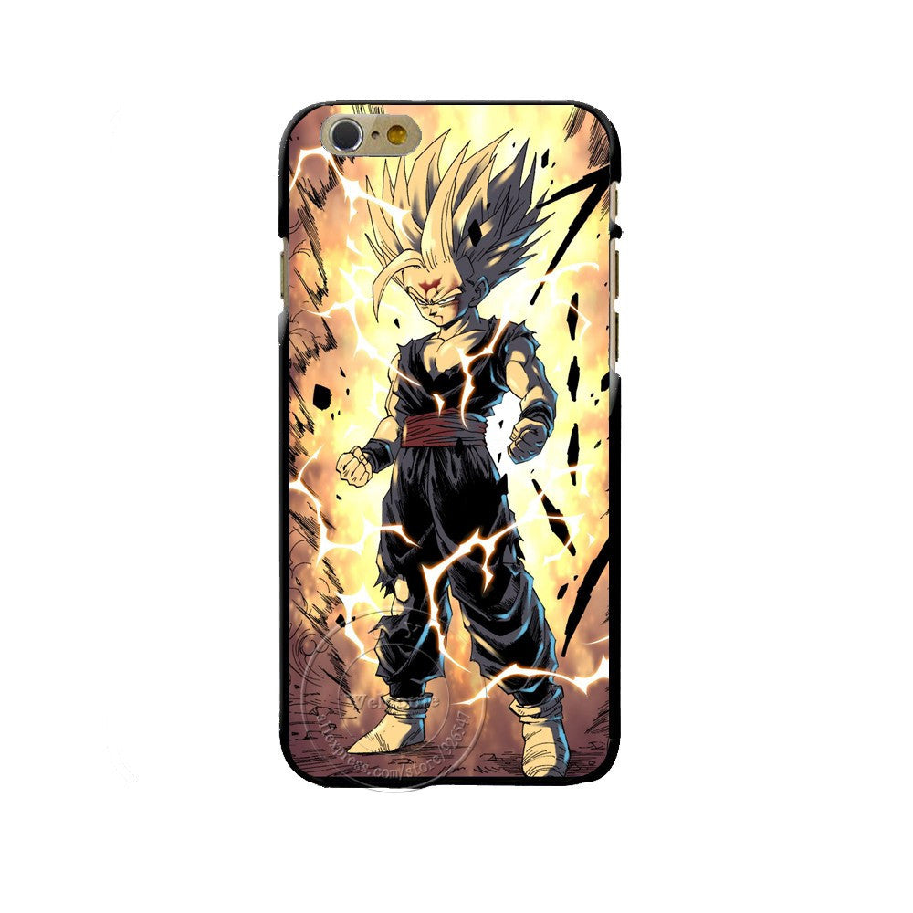 Étui de Iphone Transformation Super Saiyan