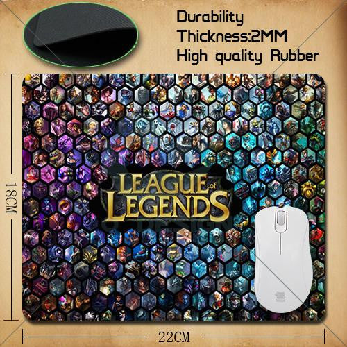 League of Legends Tapis de Souris Haute Performance 50% POUR UN TEMPS LIMITÉ!