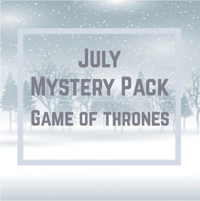 July Mystery Pack now available!