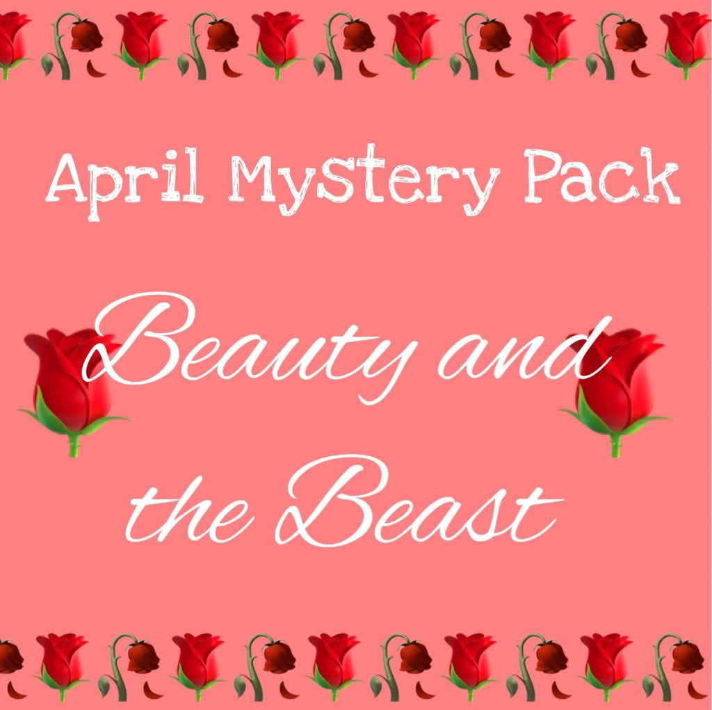 April Mystery Pack now available! The theme this month is 'Beauty and the Beast'