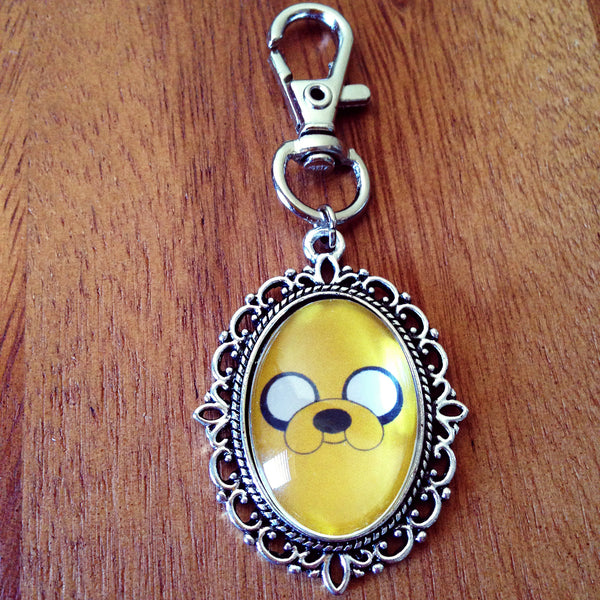 Adventure Time Jake Keyring - Belle Regalia