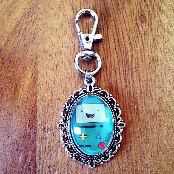 Adventure Time BMO Keyring - Belle Regalia