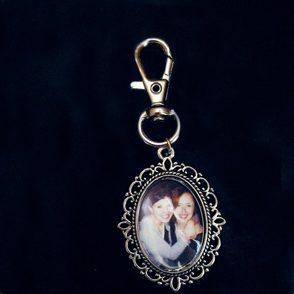 Custom Keyring- Any Picture of Your Choice - Belle Regalia - 2