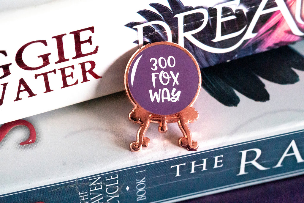 300 Fox Way Enamel Pin
