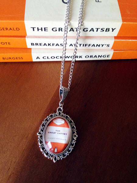 Popular Penguin Classics Book Cover Necklace (small) - Belle Regalia - 2