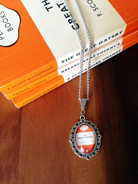 Popular Penguin Classics Book Cover Necklace (small) - Belle Regalia - 3