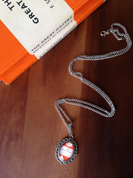 Popular Penguin Classics Book Cover Necklace (small) - Belle Regalia - 4