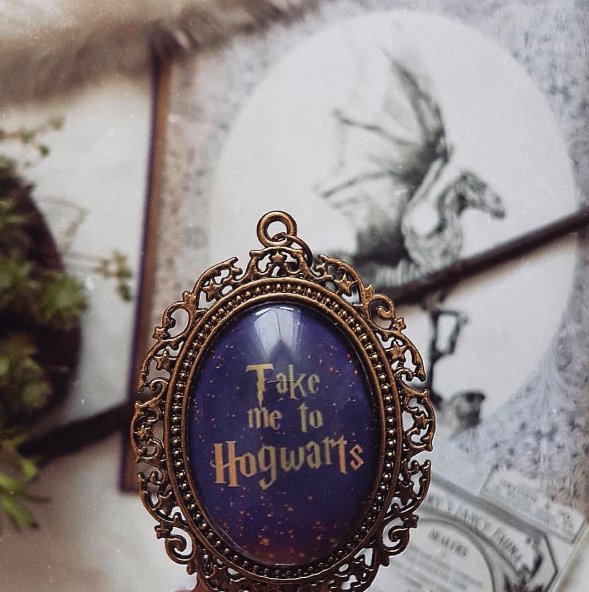 Take Me To Hogwarts Necklace (Large)