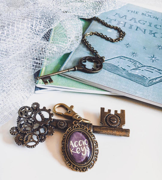 Accio Keys Bronze Keyring - Belle Regalia