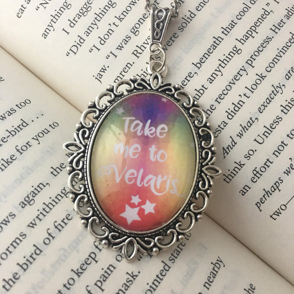 Take Me To Velaris Necklace - ACOMAF