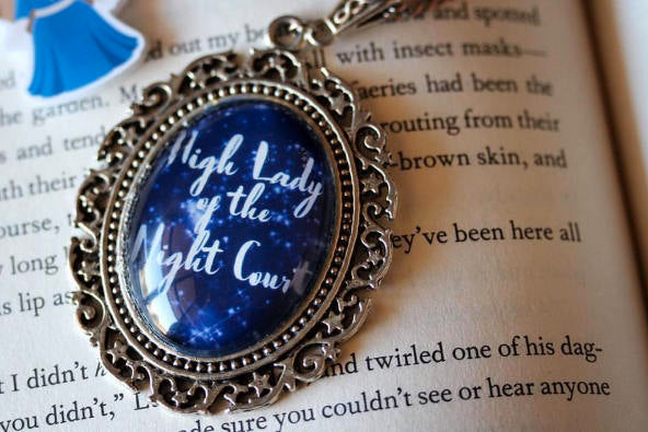 High Lady of the Night Court - A Court of Mist and Fury inspired necklace