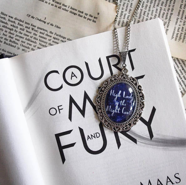 High Lady of the Night Court - A Court of Mist and Fury inspired necklace - Belle Regalia