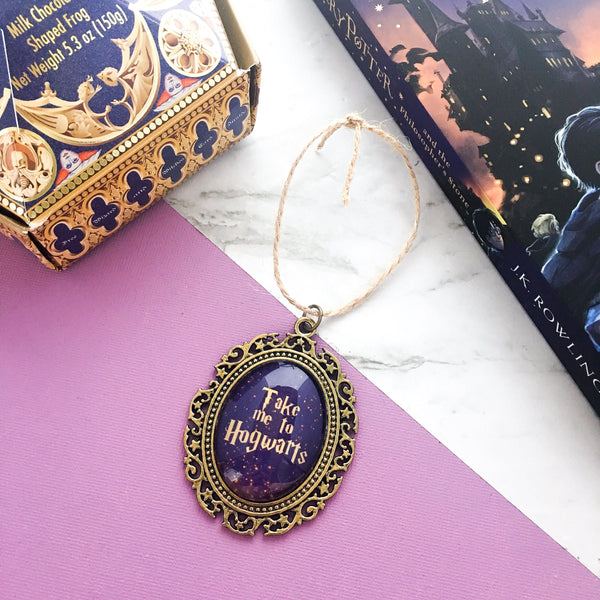HP Christmas Ornament - Take Me To H*gwarts