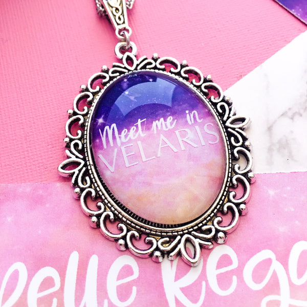 Meet Me In Velaris  - acomaf necklace - Belle Regalia