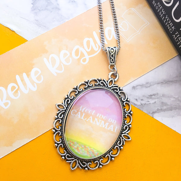 Meet Me On Calanmai - acotar acomaf necklace - Belle Regalia