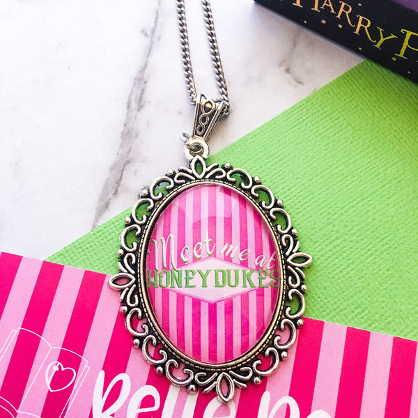 Meet Me At Honey Dukes - HP necklace - Belle Regalia