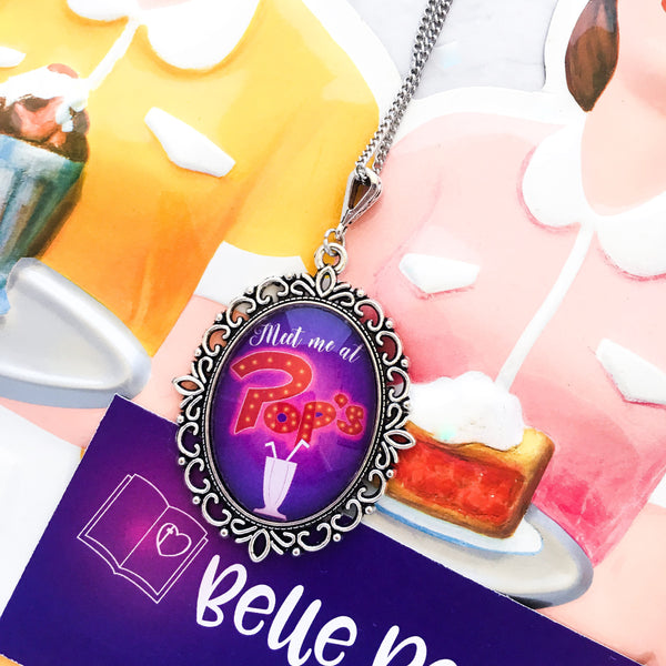 Meet Me At Pop's  necklace - Riverdale necklace - Belle Regalia