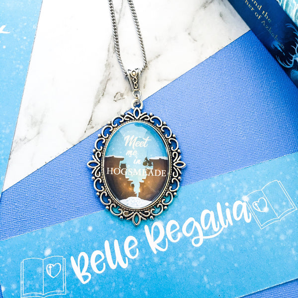 Meet Me In Hogsmeade - HP necklace - Belle Regalia