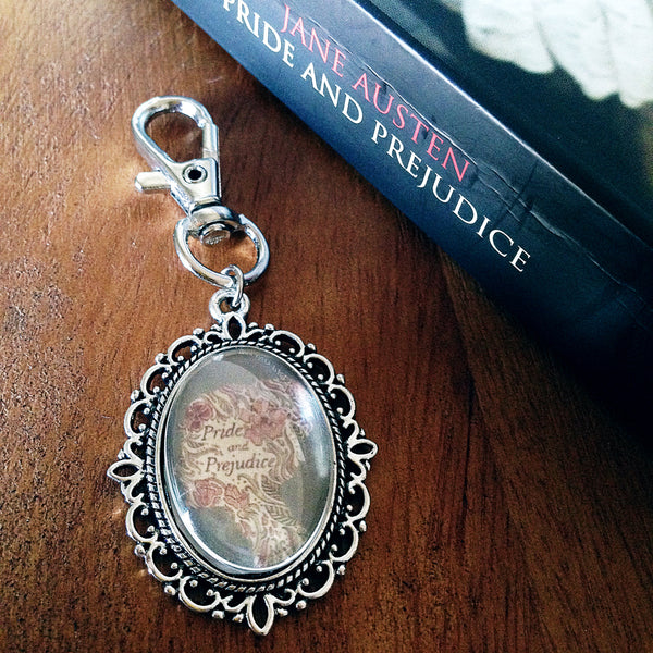 Pride and Prejudice Keyring- Jane Austen Keyring