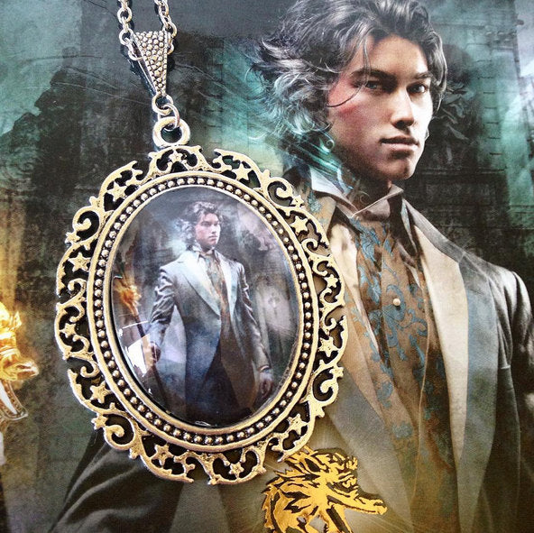 Jem Carstairs Necklace - Clockwork Prince - Belle Regalia